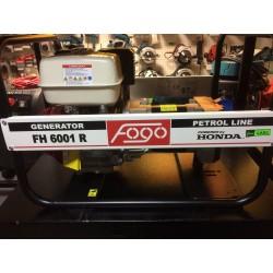 Agregat prądotwórczy jednofazowy z AVR, FOGO FH 6001R
