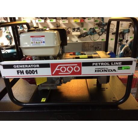 Agregat prądotwórczy jednofazowy FOGO FH6001