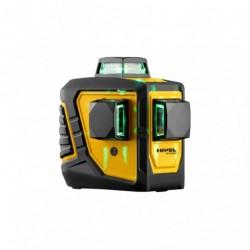 Niwelator laserowy budowlany zielony Nivel System CL3D-G